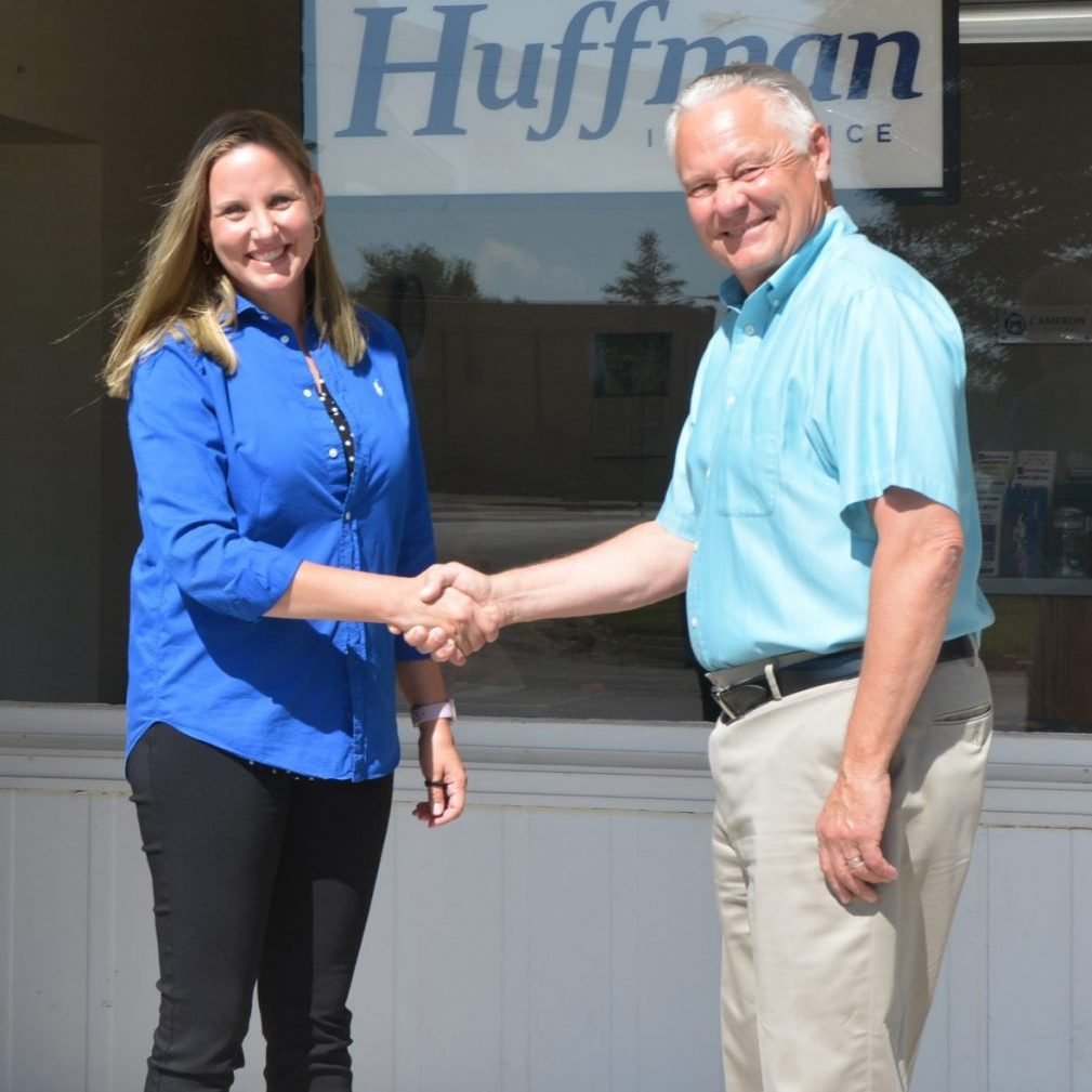 After 50 years in business, Huffman Insurance in Kahoka is changing hands. Current owner John Huffman is selling the business to Amanda Ross. Ross will also take over as manager of Clark Mutual Insurance.