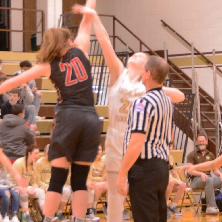 Brooklyn Howe controlled the tipoff for Clark County, and the Lady Indians controlled Thursday's game at Highland from start to finish.